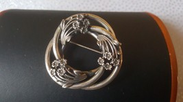 Vintage 925 sterling silver brooch. Made by JewelArt - $49.99