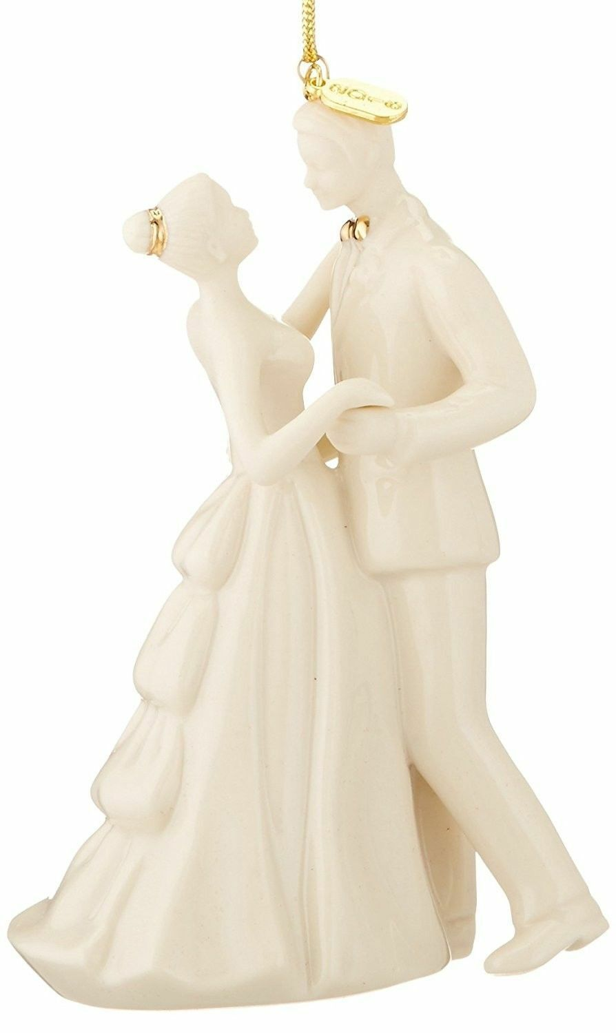 Lenox 2016 Bride & Groom Figurine Ornament Wedding Always Forever Christmas NEW