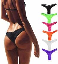 FOCUSSEXY Women's Hot Summer Brazilian Beachwear Bikini Bottom Thong Swi... - $27.83