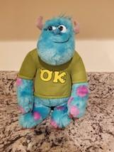 "Disney Pixar Monsters University Talkin Talking Sulley 12"" Plush My Scar... - $19.54"