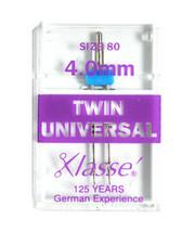 Klasse' Sewing Machine Twin Universal Needle Size 80, A5-15040 - $4.23