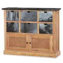Bramble 25137 Vintage Oak Cottage Organizer Solid Wood  Special Order - $1,439.00