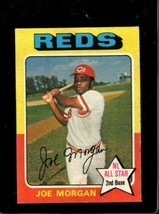 1975 TOPPS #180 JOE MORGAN VG+ REDS HOF  *X3941 - $3.96