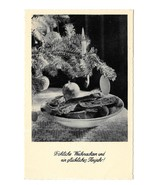 Austria RPPC Frohliche Weinachten Tree Candle Vintage WIKO Christmas RP ... - $4.99