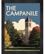 "Iowa State ""The Campanile"" 13 x 16 Art Deco Framed Print  - $39.95"
