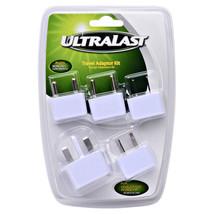 New Ultralast 5 Piece International compact & portable Travel Adapter Pl... - $11.87