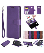 For Samsung Galaxy Phones Car Holder Removable Magnetic Leather Wallet Case - $60.45