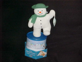 Musical Raymond Briggs The Snowman Plush Toy With Box By Eden Toys 2001 - $93.49