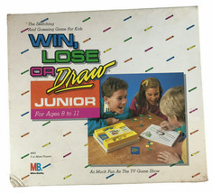 1988 Win Lose or Draw Junior Complete Game - $22.76