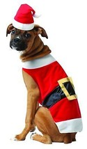 Rasta Imposta Santa Dog Costume, Small - $11.64