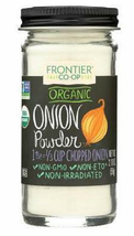 Frontier Co Op, Organic Onion Powder, 2.10oz, Ground, no salt - $9.99