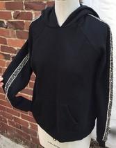 JOE'S JEANS Sweatshirt CRYSTAL rhinestone Embellished Sz S Hoodie Joes p... - $40.59
