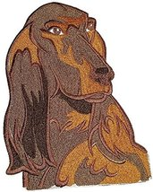 "Irish Setter dog face Embroidery IronOn/Sew patch [7"" x 5.5""][Made in USA] - $12.86"