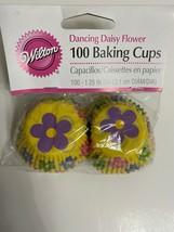 "Wilton Dancing Daisy Mini Size Cupcake Muffin Liners Baking Cups 1.25"" -... - $5.94"