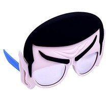 Sunstaches Star Trek Mr Spock Sunglasses, Party Favors, UV400 - £9.42 GBP