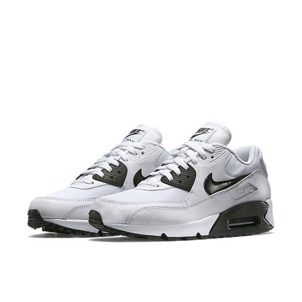d78a48b16c NIKE AIR MAX 90 ESSENTIAL WHITE/BLACK SHOES SIZE 7.5 BRAND NEW (616730-
