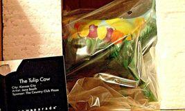 CowParade Tulip Cow Item # 9204 Westland Giftware AA-191875 Vintage Collectible image 3