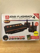 Atari Flashback game console 4 Special Edition 76 Games in box Millipede  Invade - $46.59