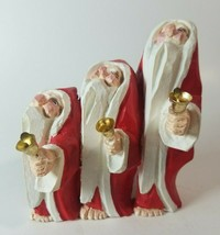 """In-Box Vintage """"Barefoot Santas"""" by Department 56: Bell Ringers: 4""""Lx5""""H... - $26.13"""