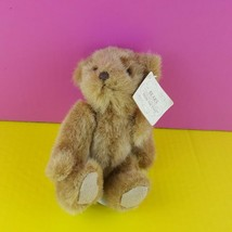 "Russ Berrie Bears From the Past 6"" Brown Teddy Bear Stuffed Plush  - $16.82"