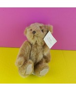 """Russ Berrie Bears From the Past 6"""" Brown Teddy Bear Stuffed Plush  - $16.82"""