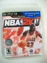 PS3 NBA 2K11 MICHAEL JORDAN GAME PLAYSTATION 3 UN-TESTED BASKETBALL - $9.75