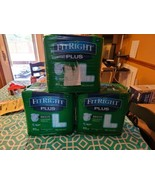 FitRight Ultra Briefs Large Adult Diapers 60 Quantity Fits 48-58 Inches ... - $44.61