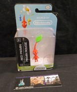 """Red Pikmin action figure from video game World of Nintendo 2.5"""" Jakks Pa... - $28.49"""