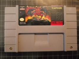Demon's Crest (Super Nintendo, SNES) Authentic Cart - Tested vintage - $60.00