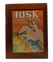 RISK game Parker Brothers Vintage Collection Wooden Book Box 1959 version  - $37.57