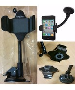 UNIVERSAL IN CAR MOBILE PHONE SAT NAV PDA GPS HOLDER WITH LOCKING SUCTIO... - $12.92