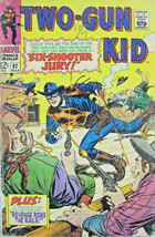 Two-Gun Kid #92 Marvel Comic 1967 Silver Age VG - $11.14