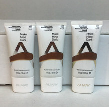 3x Almay Make Mine Dark Smart Shade Anti-Aging Skintone Matching #600 New Sealed - $9.63