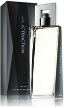 AVON Attraction At Him For Him Eau de Toilette Spray 75ml-2.5oz New Boxed Rare-$ 29.99