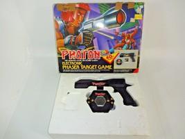 VTG Photon Electronic Phaser Target Shooting Game Laser Gun 1986 Enterte... - $29.40