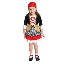 Totally Ghoul Lil' Pirate Toddler Girls Costume 2-4 yrs. free shipping - €14,03 EUR