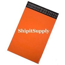 1-1000 10x13 ( Orange ) Color Poly Mailers Shipping Boutique Bags Fast S... - $0.99+