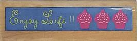 Studio 18 Enjoy Life Wood Mounted Rubber Stamp #IG66871