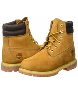 MEDIUM Timberland 6 Inch Waterville Double Collar Wheat Womens Boots 42687 - $134.39