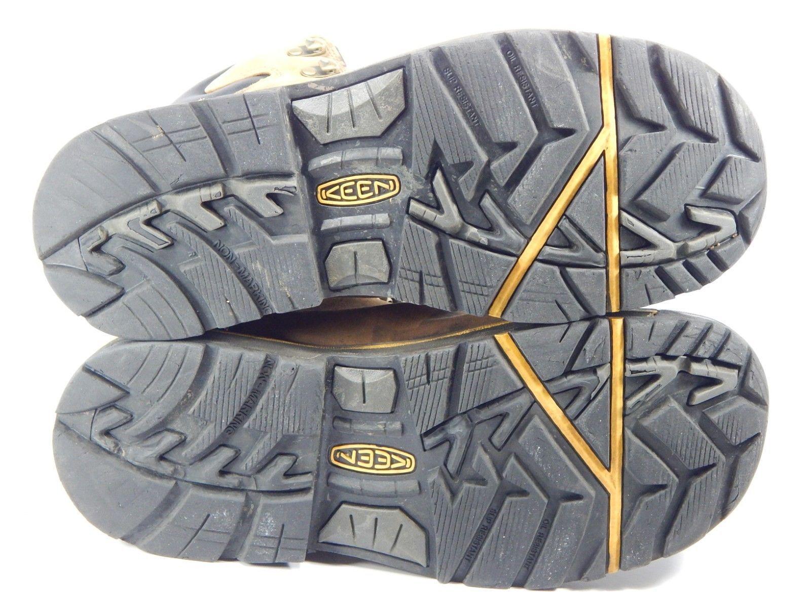 Keen Milwaukee Size 9.5 2E WIDE EU 42.5 Men's WP Steel Toe Work Boots 1009174EE