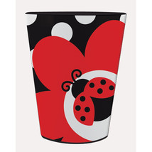 16 Oz Plastic Keepsake Cup Ladybug Fancy, Case of 12 - $25.29