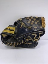 "Franklin Black Baseball Glove 4661 Bo Jackson Leather Pro Tanned RHT 11 1/2"" - $11.99"