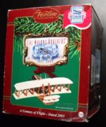 Carlton Cards Heirloom Christmas Ornament 2003 Century Of Flight Wright ... - $12.99