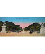 PARIS in 1900s Beautiful Chromotype Photo - Avenue Champs Elysees & Arch - $13.49