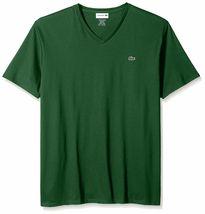 Lacoste Men's Premium Pima Cotton Sport Athletic Jersey V-Neck Shirt T-Shirt image 9