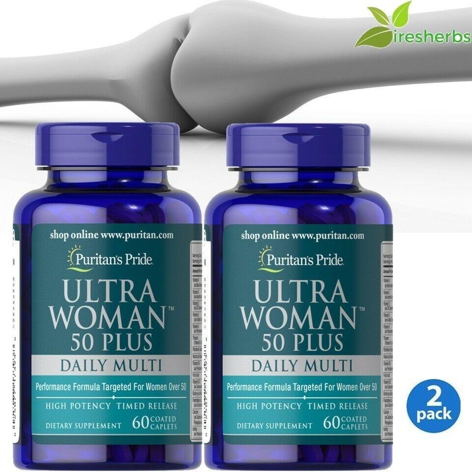 #1 BEST ULTRA WOMAN 50 PLUS SUPPORT HEALTHY BONES ANTIOXIDANT SUPPLEMENT 120 CAP