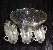 """Style Setter by Design """"Petite Fleur"""" 20 Piece Punch Bowl Set - $50.00"""