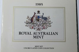 Australia 1985 Official 7 Coin Mint Set~Very Scarce~170,000 Minted~Free ... - $88.19