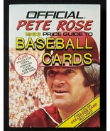The Official Pete Rose 1983 Price Guide to Baseball Cards - $5.00