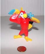 Rainforest Cafe Rio Wild Bunch Red Macaw Poseable Action Figure  - $6.99